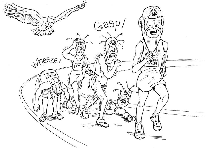 Bible Cartoons Free Black Amp White Cartoons Inspired By