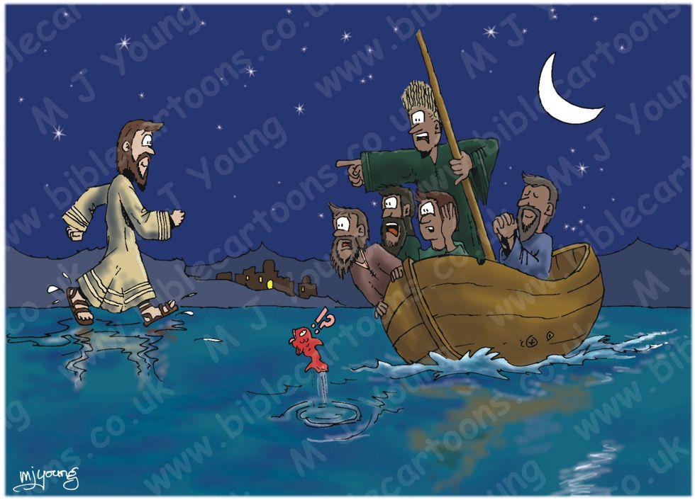 John 06 - Jesus walks on water