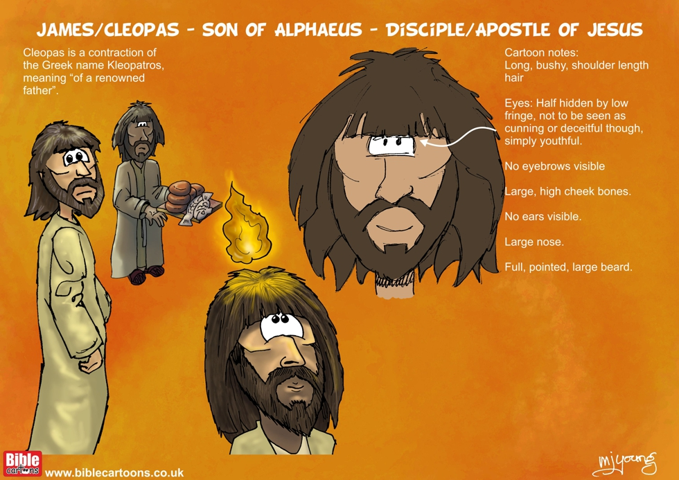 James/Cleopas (son of Alphaeus) character sheet