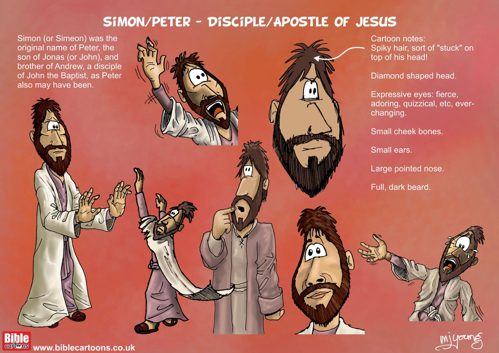 Simon/Peter character sheet