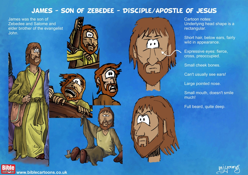 James son of Zebedee character sheet