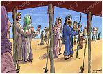 Genesis 12 - Call of Abram - Scene 01 - Leaving Haran 980x706px col