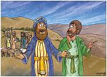 Genesis 13 - Abram and Lot separate - Scene 03 - Land choice 980x706px col