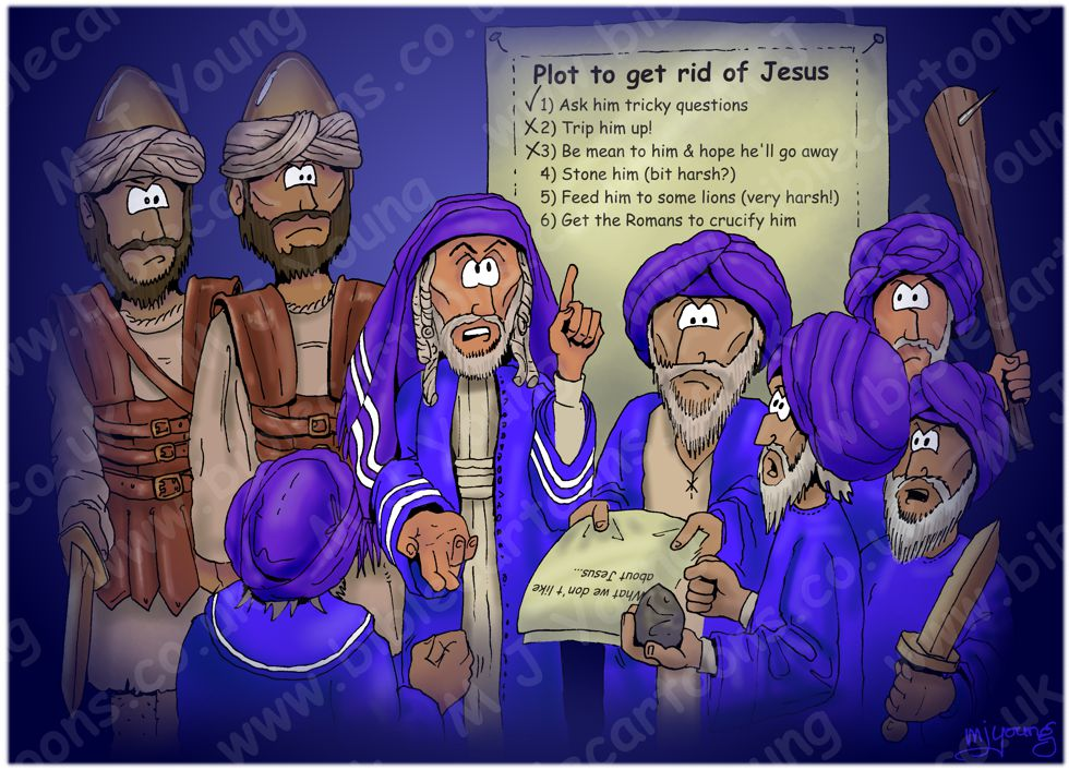 John 11 - Plot to kill Jesus 980x706px col