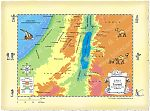 Map Southern Israel Hebron