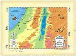 Map Southern Israel Beersheba