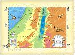 Map Southern Israel Jericho