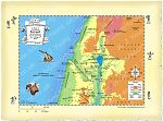 Map Northern Israel Nain