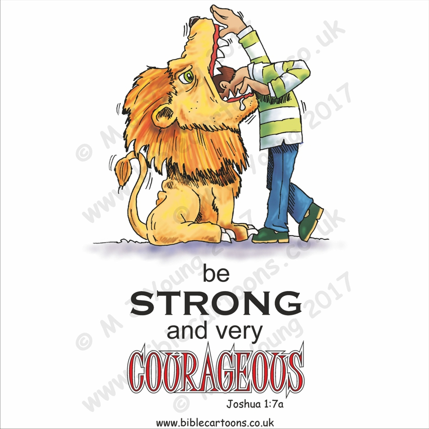 Courageous Lion watermarked