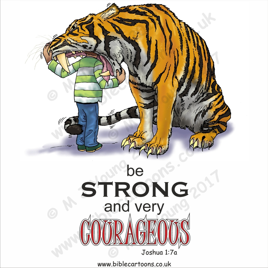 Courageous Tiger watermarked