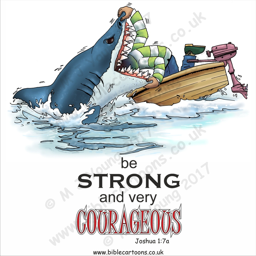 Courageous Shark watermarkedv