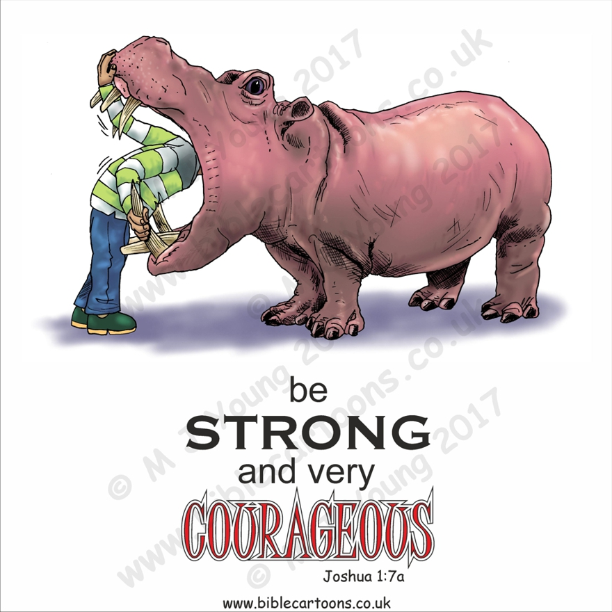 Courageous Hippo watermarked