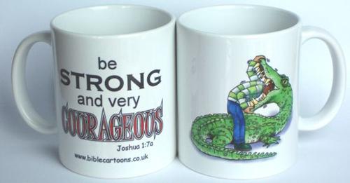 Courageous Croc Mug