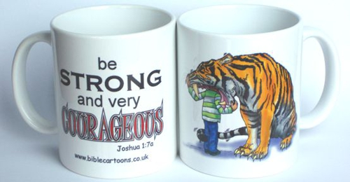 Courageous Tiger Mug
