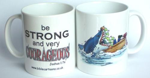 Courageous Shark Mug