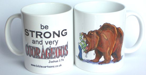 Courageous Bear Mug