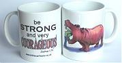 Courageous Hippo Mug