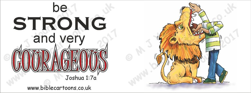 Courageous Lion - Mug watermarked