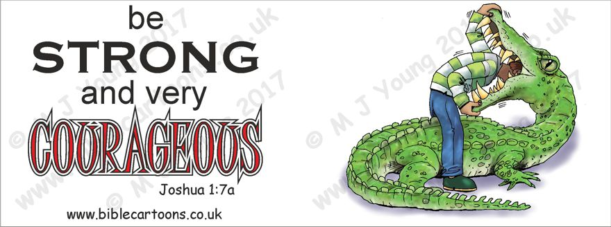 Courageous Croc - Mug watermarked