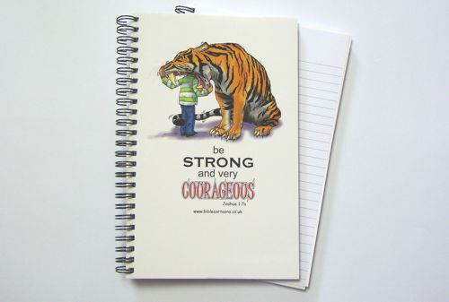 Courageous Tiger A5 Notebook