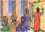 Daniel 06 - The lions' den - Scene 02 - Envious administrators 980x706px col