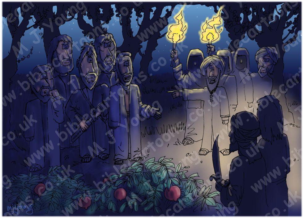 John 18 - Gethsemane