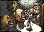 Daniel 06 - The lions' den - Scene 08 - Into the den (no skull) 980x706px