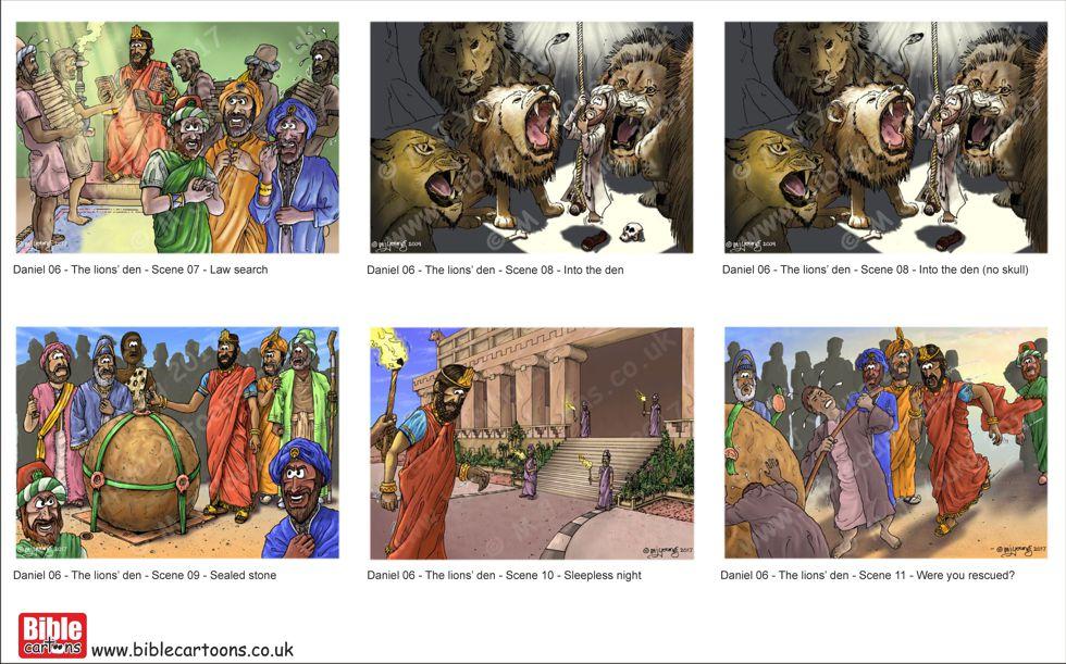 Daniel in lions' den Scene 07-11 FINISHED