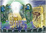Revelation 08 - Seventh seal - Scene 02 - Angel with golden censer 980x706px col