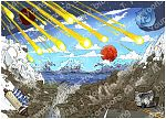 Revelation 06 - The Scroll seals - Scene 06 - Sixth seal Great earthquake (with scroll) 980x706px col
