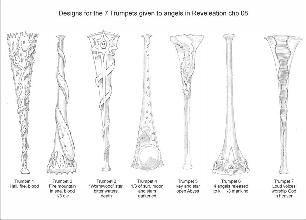 Revelation Trumpet Designs