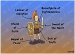 Ephesians 06 - Armour of God (Roman Soldier)