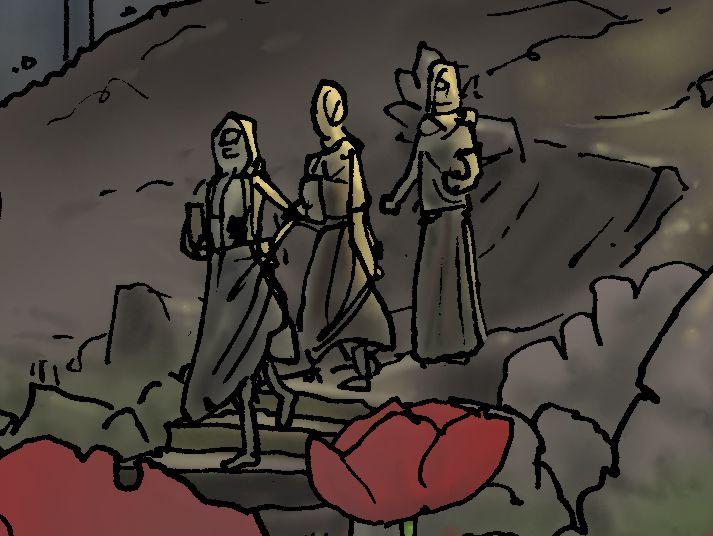 John 20 - The Resurrection - Scene 01 - Stone removed - PARTIAL 01