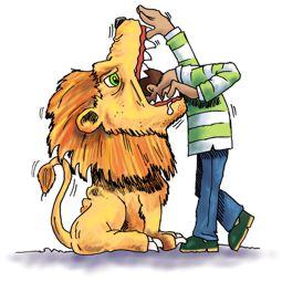 Lion & man 255x255px col