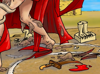 Nahum 03 - Woe to Nineveh - Scene 01 - Nineveh witch harlot PARTIAL 01 100 dpi col.jpg