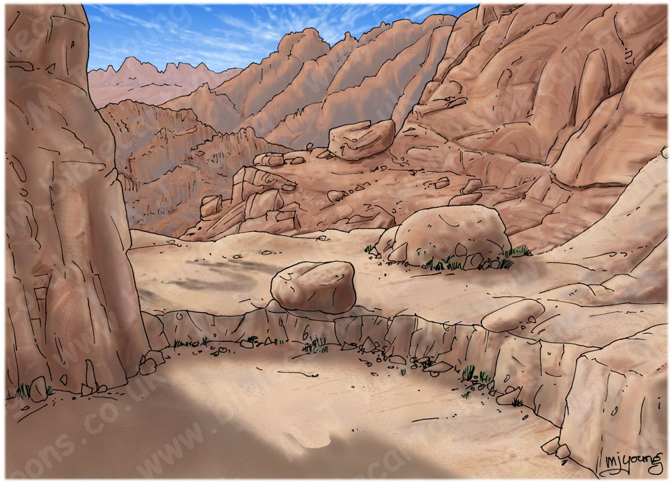 Exodus 04 - Burning Bush - Scene 04 - Staff - Landscape 980x706px col.jpg
