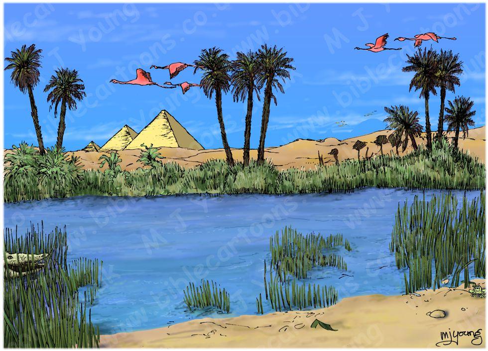 Matthew 02 - The Nativity - Scene 14 - Return to Israel (Colour version) 980x706px - Landscape col.jpg