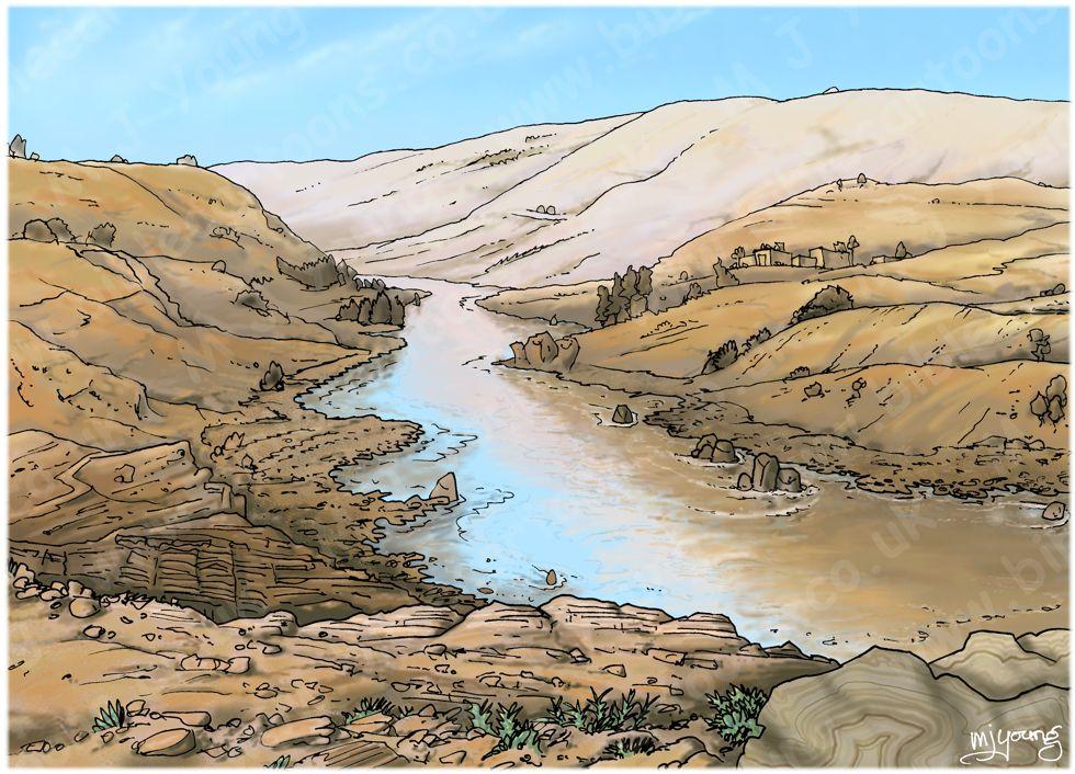 Acts 02 - Pentecost - Scene 10 - 3000 Baptised - Landscape 980x706px col.jpg