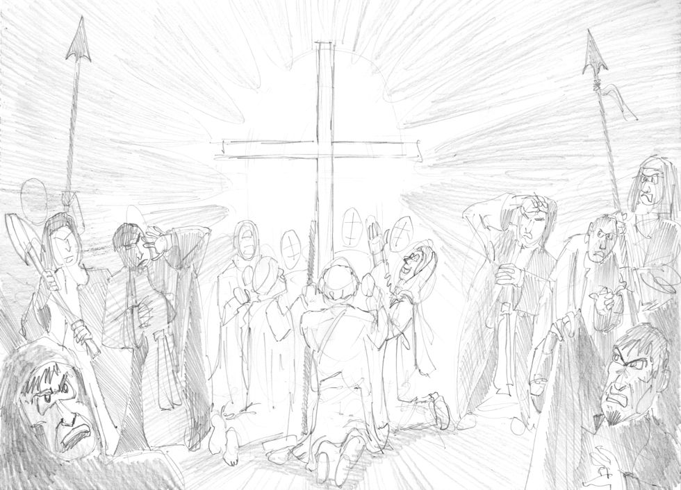 Psalm 05 - With you the wicked cannot dwell - Greyscale 980x706px.jpg
