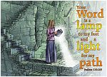 Psalm 119v105 - Light for my path (Woman light text version) 980x706px col.jpg