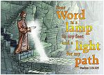 Psalm 119v105 - Light for my path (Man light text version) 980x706px col.jpg