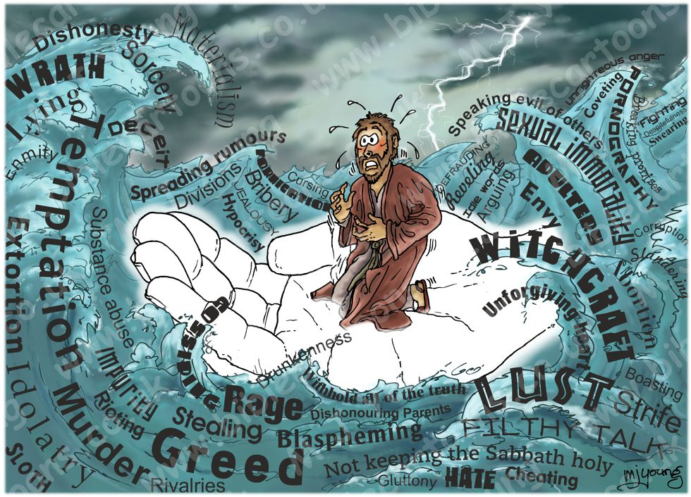 Isaiah 41v8-10 - The Helper of Israel - Hand of God (Text version) 980x706px col.jpg