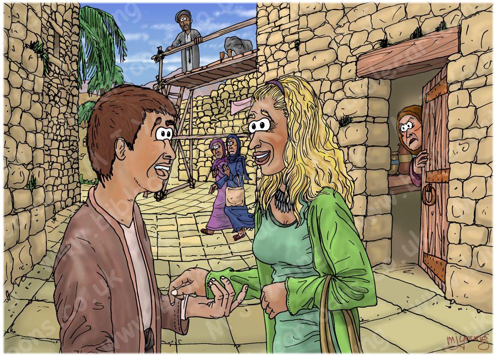 Psalm 12 - Flattering lips speak with deception 980x706px col.jpg
