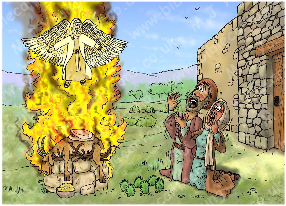 Judges 13 - The birth of Samson - Scene 03 - Flaming sacrifice 980x706px col.jpg