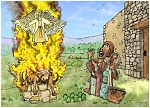 Judges 13 - The birth of Samson - Scene 03 - Flaming sacrifice 980x706px col.jpg