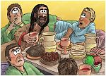 Judges 14 - Samson's marriage - Scene 05 - The riddle 980x706px col.jpg
