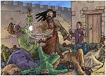 Judges 14 - Samson's marriage - Scene 08 - Ashkelon revenge 980x706px col.jpg