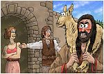 Judges 15 - Samson's revenge - Scene 01 - Refused entry 980x706px col.jpg