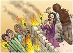 Judges 15 - Samson's revenge - Scene 03 - House burning 980x706px col.jpg