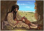 Judges 15 - Samson's revenge - Scene 05 - Etam cave 980x706px col.jpg